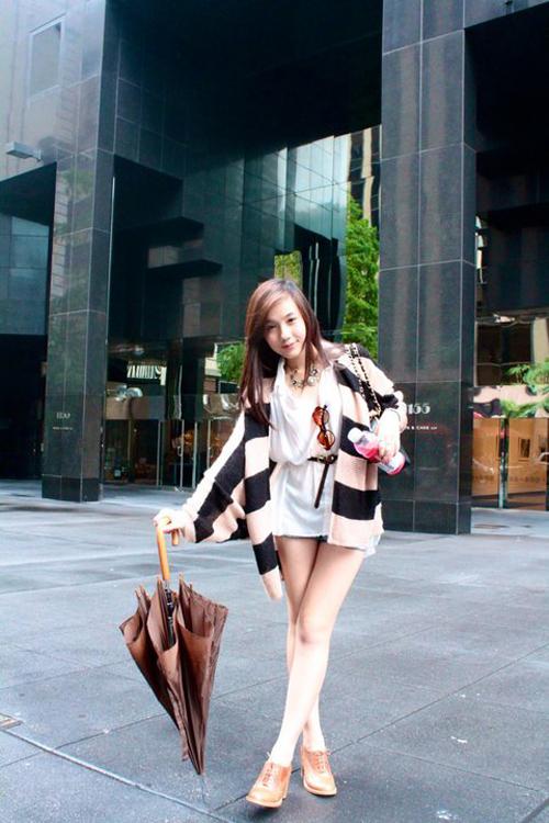 Điểm danh 5 hot girl mặc đẹp nhất năm 2012 12