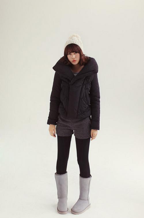 Học cách mix áo phao cực chất cho những ngày lạnh mưa gió 3