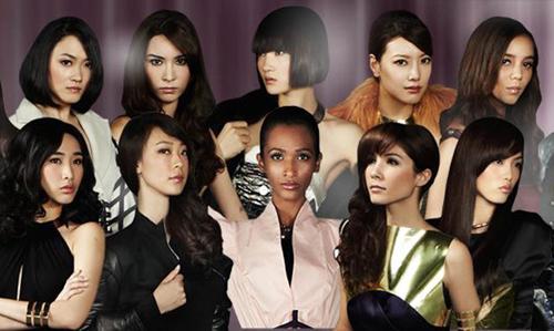 Thùy Trang nổi bần bật giữa dàn Asia Next Top 1