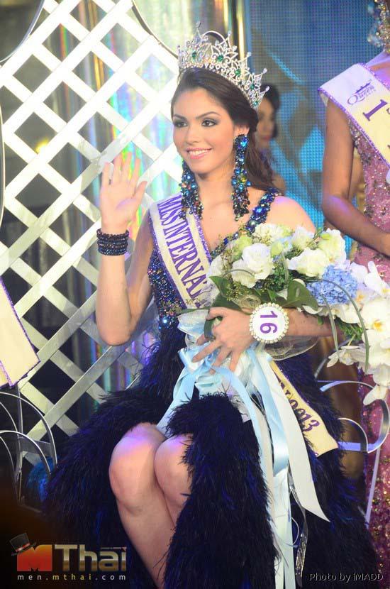 Người đẹp Brazil đăng quang Hoa hậu Chuyển giới Quốc tế 2013 2
