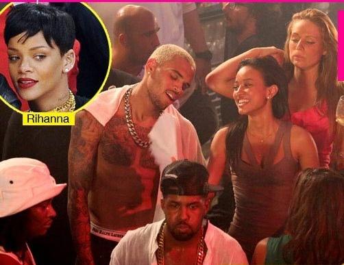 Lờ Rihanna, Chris Brown hẹn hò với bạn gái cũ gốc Việt 1