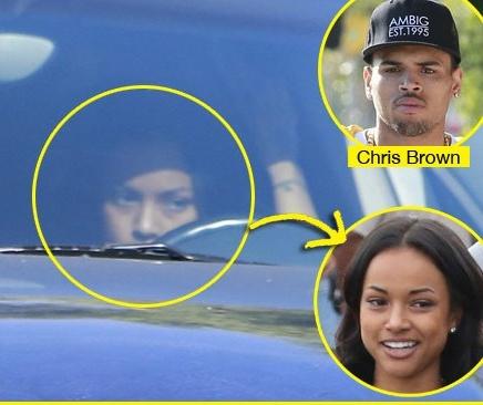 Lờ Rihanna, Chris Brown hẹn hò với bạn gái cũ gốc Việt 2