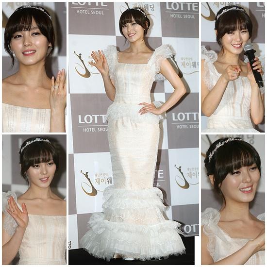 Idol Hàn xúng xính dự đám cưới như mơ của Sunye (WGs) 16