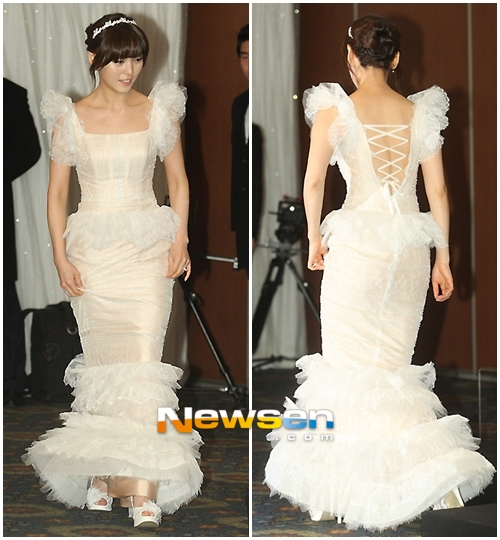 Idol Hàn xúng xính dự đám cưới như mơ của Sunye (WGs) 15