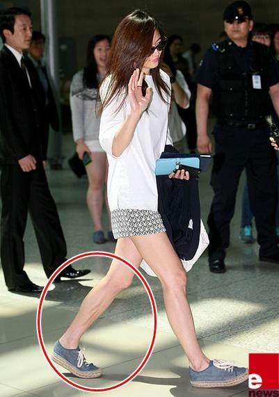 Những sao Hàn sở hữu đôi chân không đẹp 22