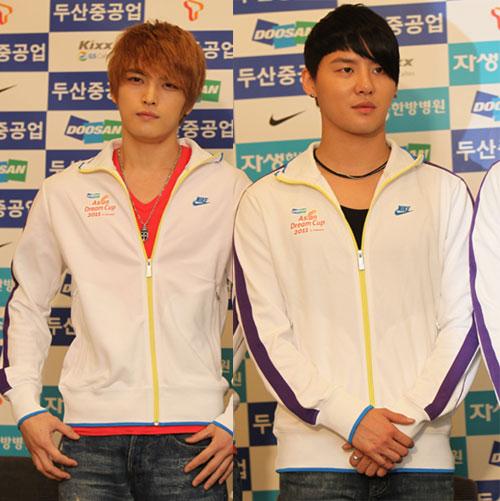 Junsu và Jaejoong (JYJ) sẽ nhập ngũ vào cuối năm 1