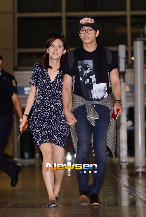 Ji Sung và Lee Bo Young sang Tây Ban Nha chụp ảnh cưới 1