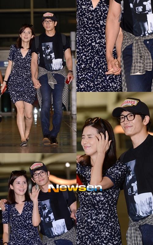 Ji Sung và Lee Bo Young sang Tây Ban Nha chụp ảnh cưới 9