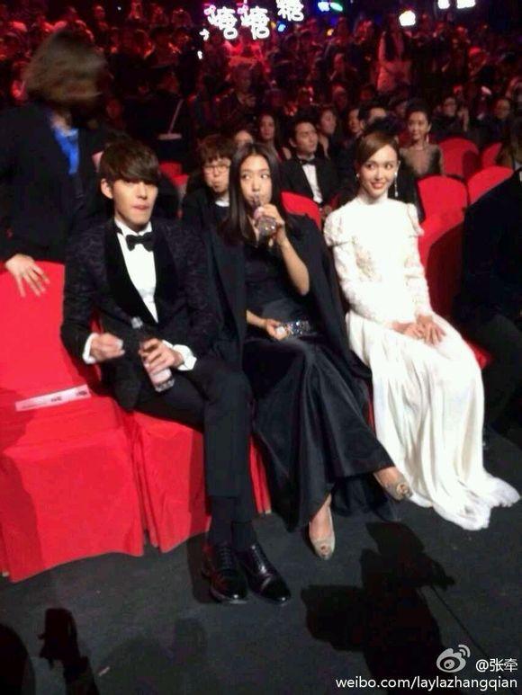 Park Shin Hye và Kim Woo Bin thể hiện tình cảm ngay trên ... Park Shin Hye And Kim Woo Bin Hug