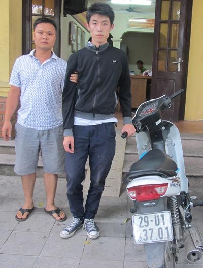 Học sinh lớp 11 cướp táo tợn trên phố Lý Thường Kiệt, Hà Nội 1