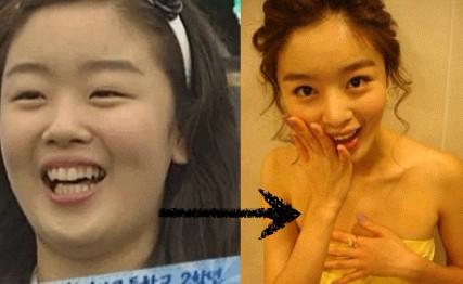 """Những thành tích giảm cân """"khủng"""" của ca sỹ Hàn 7"""