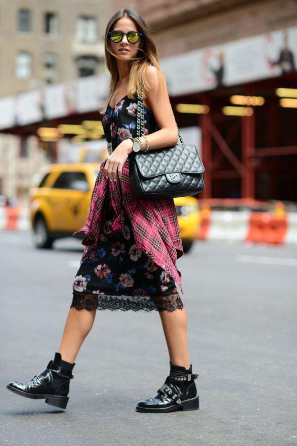 """9 cách mặc kẻ caro """"chuẩn"""" như fashionista 7"""