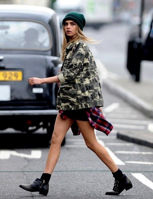 """9 cách mặc kẻ caro """"chuẩn"""" như fashionista 5"""