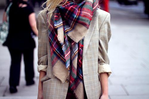 """9 cách mặc kẻ caro """"chuẩn"""" như fashionista 19"""