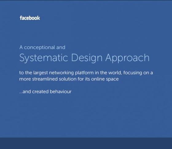 """Giao diện Facebook """"tái thiết kế"""" đẹp mắt 1"""