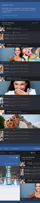 """Giao diện Facebook """"tái thiết kế"""" đẹp mắt 6"""