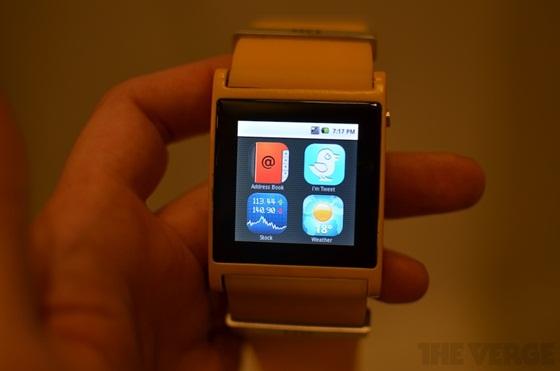 I'm Watch - Chiếc đồng hồ Android đầu tiên thế giới 10