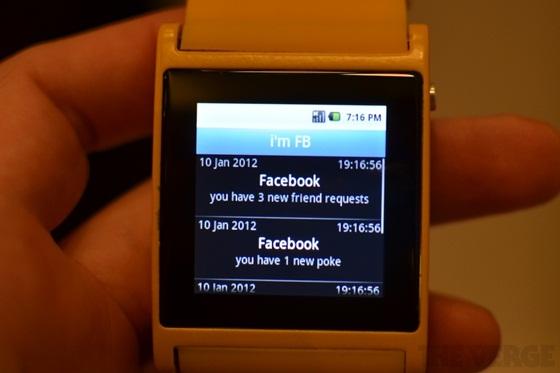 I'm Watch - Chiếc đồng hồ Android đầu tiên thế giới 11