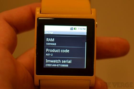 I'm Watch - Chiếc đồng hồ Android đầu tiên thế giới 12