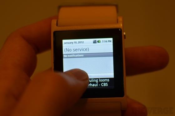 I'm Watch - Chiếc đồng hồ Android đầu tiên thế giới 13