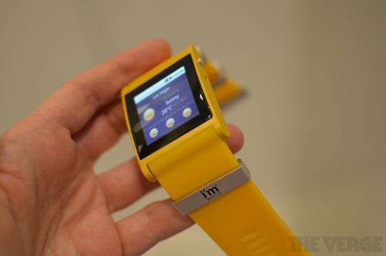 I'm Watch - Chiếc đồng hồ Android đầu tiên thế giới 1