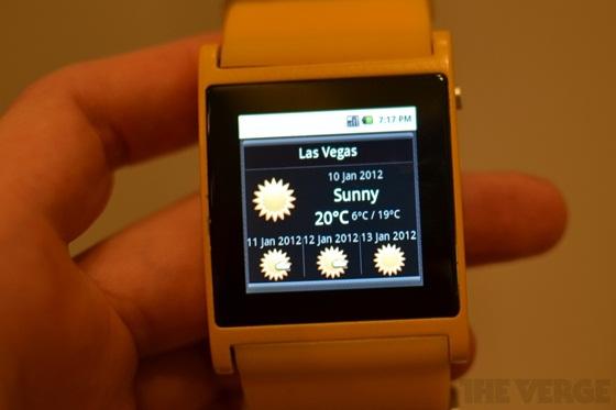 I'm Watch - Chiếc đồng hồ Android đầu tiên thế giới 2