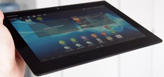 Sony trình làng máy tính bảng siêu mỏng và chống nước 1