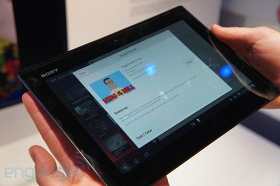 Sony trình làng máy tính bảng siêu mỏng và chống nước 3