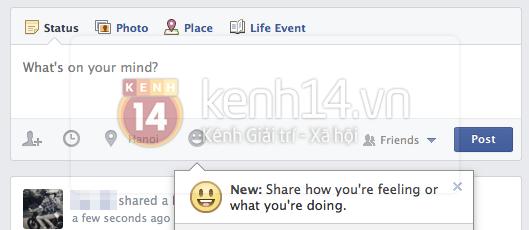 Tính năng biểu cảm mới toanh của Facebook xuất hiện tại Việt Nam 1