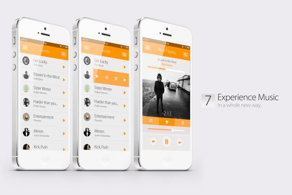 Bản concept iOS 7 với thiết kế phẳng vô cùng đẹp mắt 13