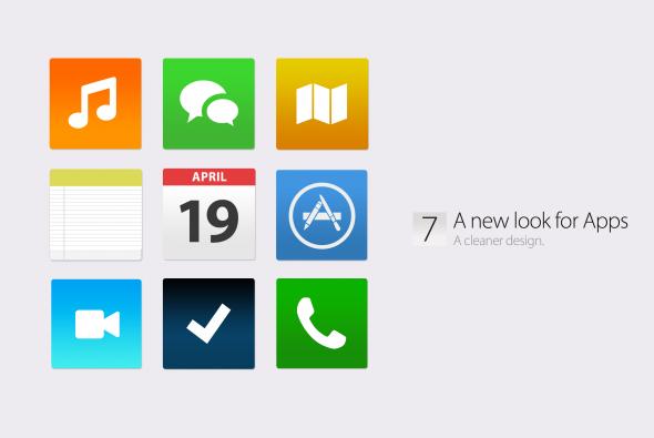 Bản concept iOS 7 với thiết kế phẳng vô cùng đẹp mắt 2