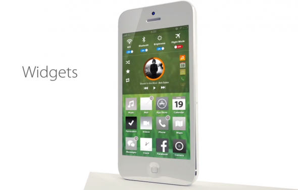 Bản concept iOS 7 với thiết kế phẳng vô cùng đẹp mắt 9
