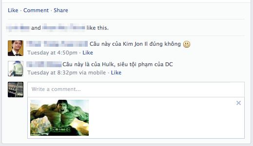 Trào lưu comment bằng ảnh tràn ngập Facebook 4