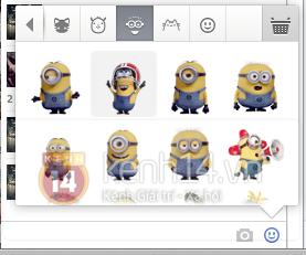 Facebook cập nhật bảng Sticker cho phiên bản máy tính 6