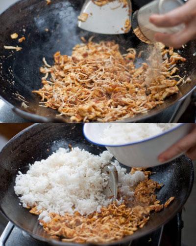 Công thức cơm rang đặc biệt của Indonesia 6