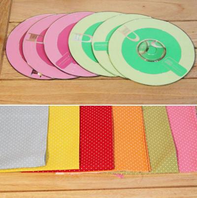 Hộp đựng giấy xinh xắn làm từ đĩa CD cũ 1