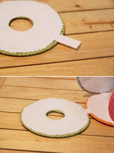 Hộp đựng giấy xinh xắn làm từ đĩa CD cũ 8