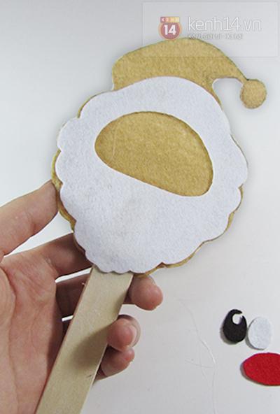 Ý tưởng làm thiệp giáng sinh kiểu kẹo mút siêu nhắng 3