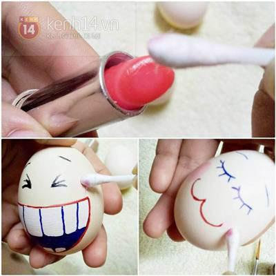 Lật đật làm từ vỏ trứng xinh xắn đáng yêu 8