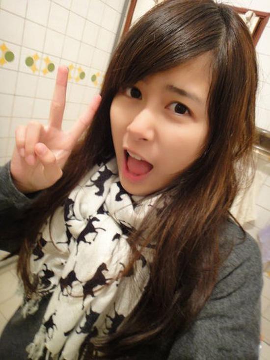 """Dân mạng Đài Loan sốt với """"Cô bé trà sữa"""" phiên bản 2 5"""