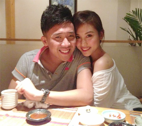 Những hot girl là bạn gái xinh xắn của sao Việt 17