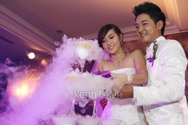 Những đám cưới hoành tráng của các hot girl Việt 74