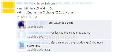 Kinh hoàng vụ án mạng tại trường ĐH KD&CN Hà Nội 3