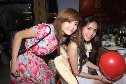 Những cô nàng chị dâu, em chồng xinh đẹp và nổi tiếng của sao Việt 16