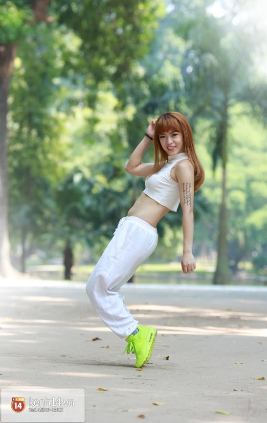 Hana Giang Anh - Cô nàng HLV thể dục 20 tuổi cực hot trên Youtube 14
