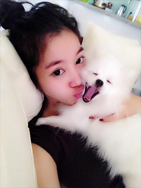 Ngắm hot teen Việt nhắng nhít chụp ảnh cùng thú cưng 12