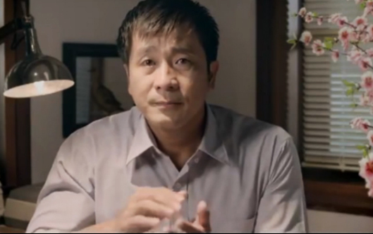 """Gặp """"ông bố"""" trong clip quảng cáo cảm động nhất Tết 2013 3"""