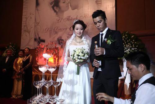 Những đám cưới hoành tráng của các hot girl Việt 5
