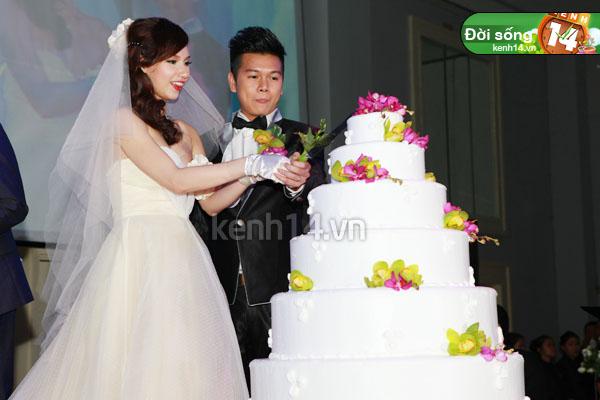 Những đám cưới hoành tráng của các hot girl Việt 51