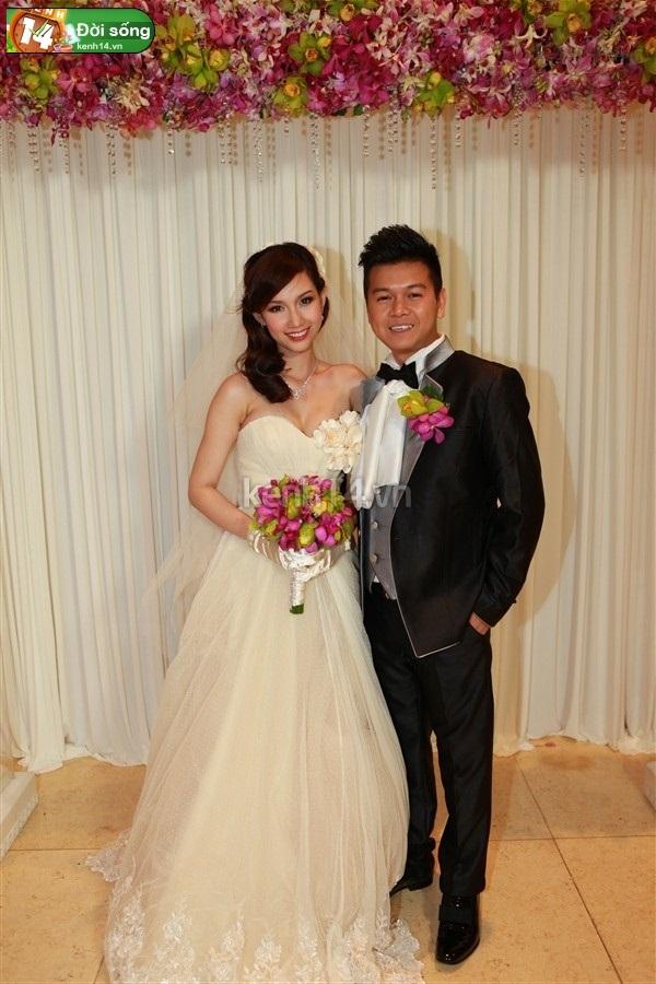 Những đám cưới hoành tráng của các hot girl Việt 43